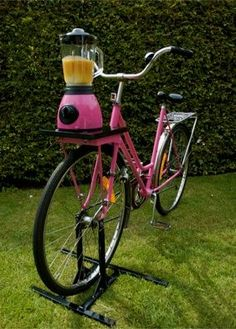 Smoothie bike...Just what the world has been waiting for...Thank you!