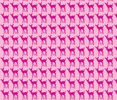 fawn_pink fabric by bozontee on Spoonflower - custom fabric