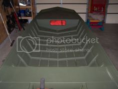 New Aluminum Floor in 1648 - TinBoats.net Aluminum Fishing Boats, Aluminum Boat, Front Deck, Back Deck, Welding Shop, Boat Projects, Jon Boat, Just Go, Two By Two