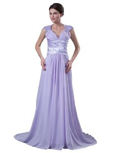 Glamorous Lavender Floor Length A-line Chiffon Mother of the Bride Dress (20) Crystal Dresses http://www.amazon.com/dp/B00I6ZTR2S/ref=cm_sw_r_pi_dp_453Itb1HRNGGB7Y4
