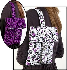 Sling bag: PDF pattern with clear diagrams and instructions