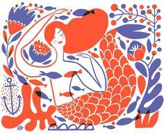 Mermaid artprint