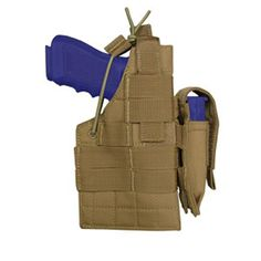 Ambidextrous Holster Color- Tan