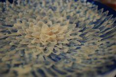 Japanese food -Fugusashi- : sashimi of puffer fish