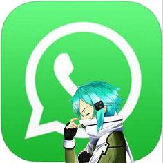 App Anime, Animated Icons, Anime Wallpaper Iphone, Online Art, Galaxy Art, Art, Kawaii App, Blue Wallpaper Iphone, Sword Art Online