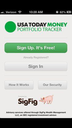 USA TODAY Money Portfolio Tracker - iOS Store Store Top Apps | App Annie