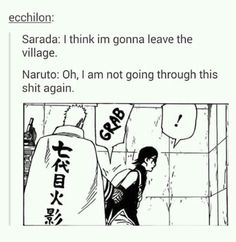 Naruto ain't going through this shit again , you hear that Sasuke. Manga Naruto, Naruto Comic, Naruto Shippuden Anime, Naruto Art, Naruto And Sasuke, Gaara, Manga Anime, Kakashi, Boruto