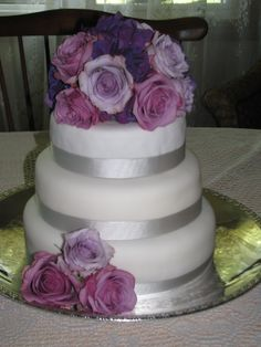 Cake Flowers  Created by XQZT Floral Design