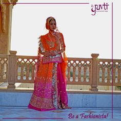 Want to be a Fashionista rocking in Rajputi Style? Check our Collection now. #Unique #Designs #EthnicAttire #IndianClothing #RajputiPoshak #Rajput #Yuvti  LikeShow More ReactionsComme