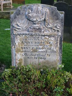 Anne Bronte's grave by Jonathan Grant, via Flickr