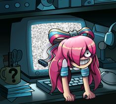The Ring by markmak>>>and makes it even better is that she's from Gravity Falls and it's making a reference to The Ring which are both my favorite things Giffany Gravity Falls, Gravity Falls Art, Dipper Y Mabel, Pixar, Grabity Falls, Desenhos Gravity Falls, Fanart, Reverse Falls, Bill Cipher