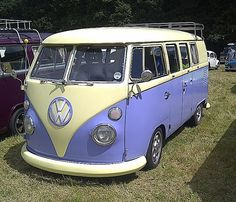 VW Campervan by BlueLightPhotography, via Flickr