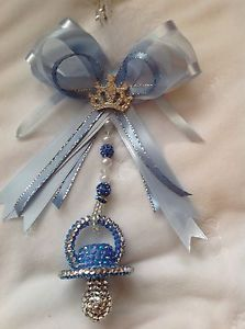 Romany Crystal bling diamante Dummy Pram Charm Christening Baby Shower Crown