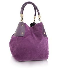 """""""When I am old, I shall wear purple"""" -- and this would go nicely with it!"""
