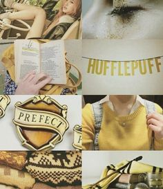 Hufflepuff aesthetic - for my Hufflepuff friends. There are so many of you. You're like an army