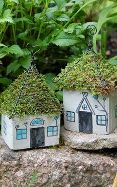 schöne Gartenideen garten bilder gartendekorationen papphaus