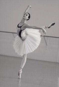 Olga Smirnova 'Swan Lake', rehearsal.