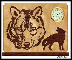 Absolutely Free Scroll Saw Patterns | WOLF SCROLL SAW PATTERNS « Free Patterns