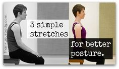 3 Simple Stretches for Better Posture