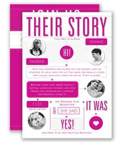 Who doesn't love a great love story?! Spread the word with this unique typography