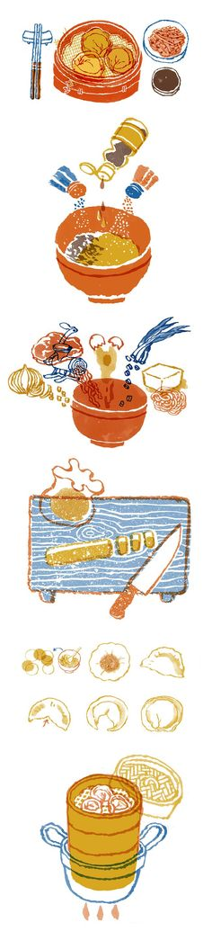 'How to make Korean dumplings' by Hayelin Choi