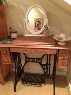 Image result for singer sewing machine dressing table