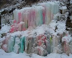 I hope they bring back the ice castles.. I thikn that's what they're called..
