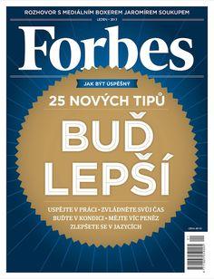 Obálka lednového Forbesu