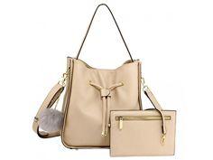 Kabelka na rameno Marie telová + pouch Pouch, Model, Bags, Fashion, Handbags, Moda, Fashion Styles, Sachets