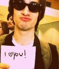 Panic! At the Disco--my favorite band. This man, my friends, is Brendon Urie!