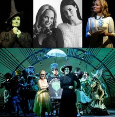 Glinda and Elphaba montage! <3 I felt that this was appropriate for this time of week... :) @Antonia Bowen