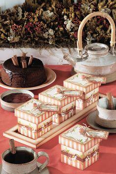 Porta-chá em MDF - Portal de Artesanato - O melhor site de artesanato com passo a passo gratuito