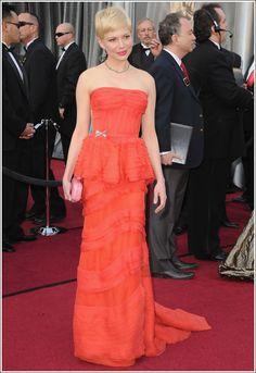 Michelle Williams @ 84th Annual Academy Awards #Oscars