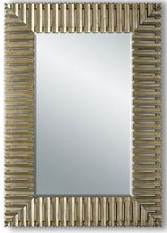 beaded mirror christopher guy large mirrorsdecorative - Large Decorative Mirrors