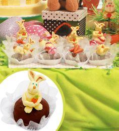 Pão de mel decorado com coelho modelado com pasta americana - Feito para à  revista Faça Fácil  Artesanato da editora On Line.