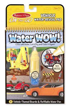 Cuaderno Water Wow – Vehiculos - Juegos Didácticos JulioCepeda.com