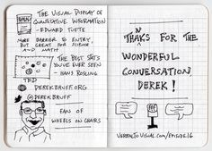 Derek Bruff Trends In Higher Education Sketchnotes 5 - the verbal to visual podcast - edward