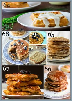 80-healthy-breakfast-recipes-WAFFLES-PANCAKES-FRENCHTOAST