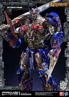 Optimus tf5 statue