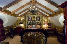 Steampunk bedroom decorating ideas