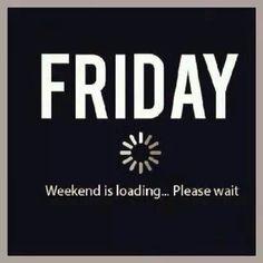 Friday, viernes