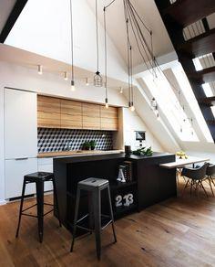 Interiér mezonetového bytu v Trnave | Archinfo.sk - portál pre architektov | Archinfo.sk