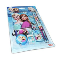 Frozen Elsa Theme 6 In 1 Combo Stationery Set Perfect For Birthday Gifts
