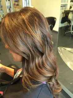 Soft #Natural #WarmBrown  #Balayage #Highlights I did.  I wanted a #Red #Brown #Fall #Winter look. #Haircolor #Beachwaves #Howto #Blowout #Wedding #Sexyhair #Longhair #Brunette #JuliusMichael #OliviaGarden #Kenra #KenraColor @OliviaGardenInt  @kenra #Love #LongSexyHair