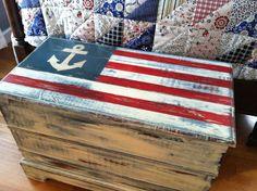Lucy's Lampshade: Nautical Americana