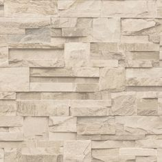 Nice texture effect for the wallpaper too Muriva Bluff Slate Stone Brick Effect Wallpaper J27407