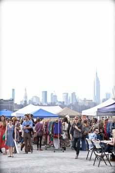 Brooklyn Flea -  This Kings County bazaar hosts hundreds of vendors selling antiques, vintage clothes, records, art, jewelry and more. On Saturdays, the Flea hunkers down in its original location, outside of Bishop Loughlin Memorial High School (between Clermont and Vanderbilt Aves, Fort Greene; 10am–5pm; Apr–Nov);