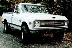 70 Chevy truck.  I want. @Chanel Hawkins