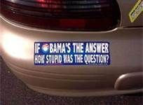 Funny Obama Bumper Stickers - Bing Images