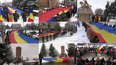 Zeci de elevi târgovișteni au purtat Steagul Tricolor, lung de 100...